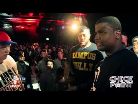DON'T FLOP - Rap Battle - Chris Leese  Unanymous Vs Charlie Clips  DNA