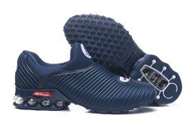 0647bfbc46 Latest Style Nke Air Max Plus v 50 Cent Shox Navy Blue White Shox Nz Mens  Athletic Running Shoes Trainers