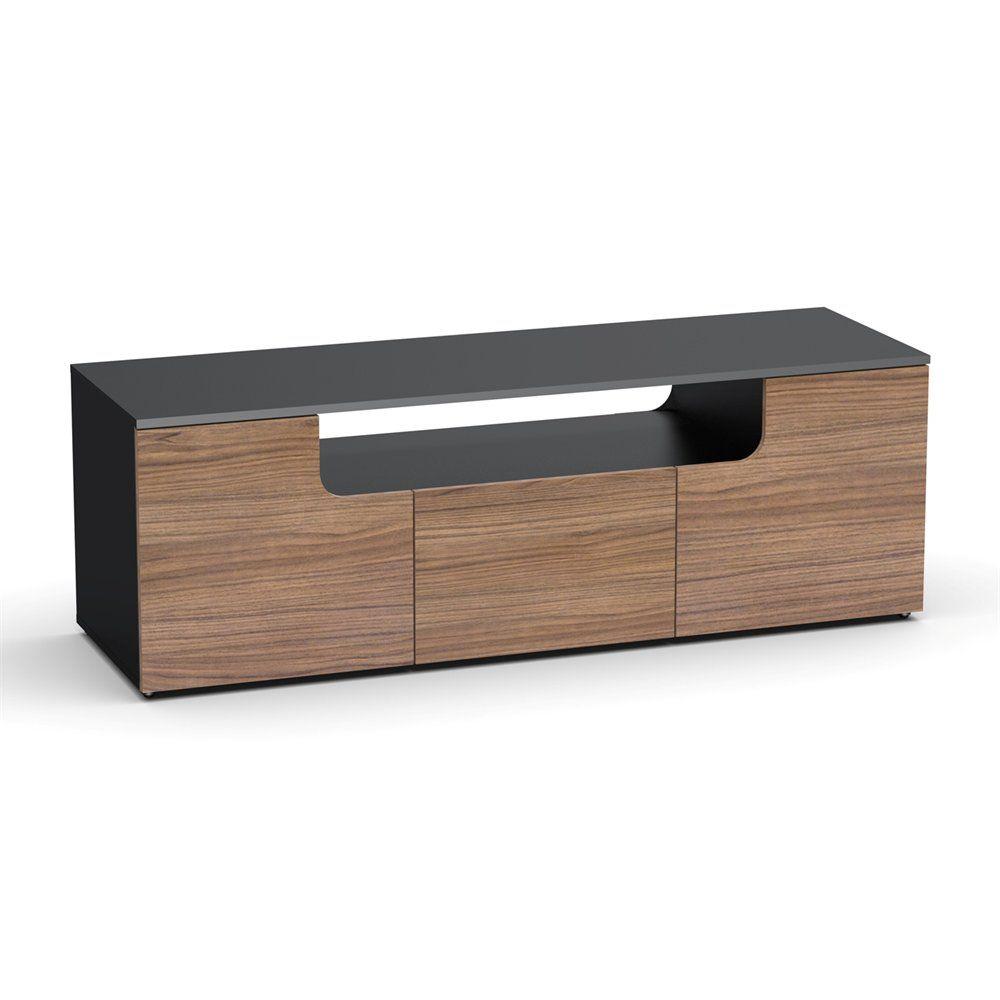 Nexera 600136 Next 60 In Tv Console Black Tv Cabinet Tv