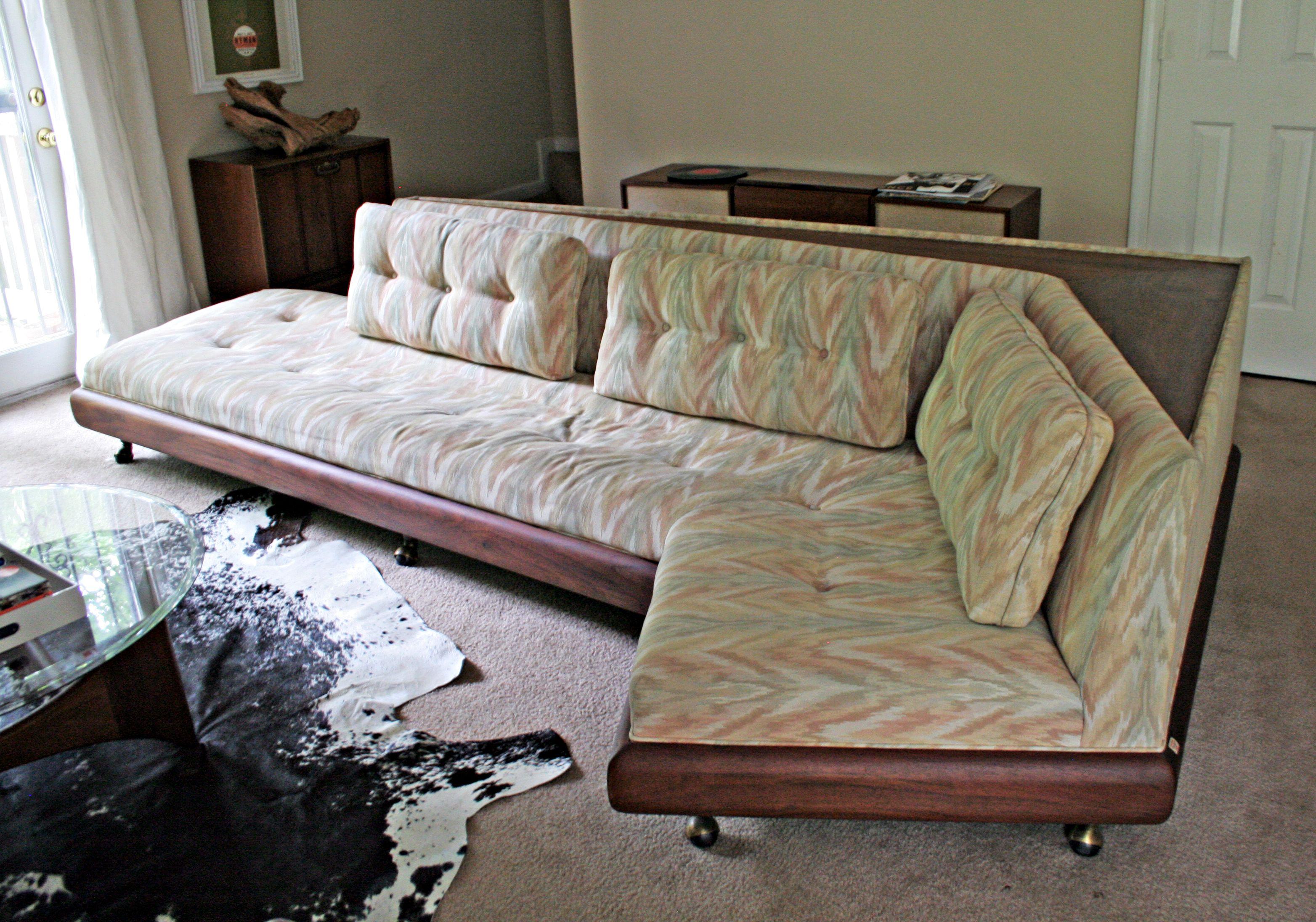 Craigslist Find Adrian Pearsall Sectional Life Of Plenty Adrian Pearsall Sofa Vintage Sofa Furniture