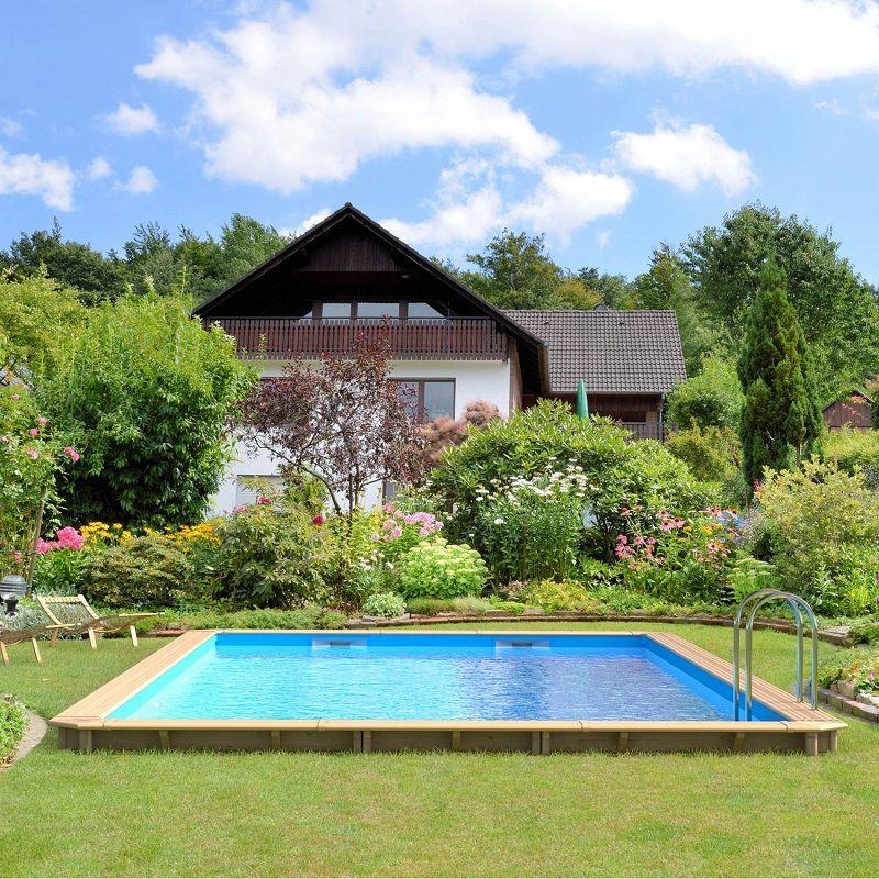 piscine hors sol bois odyssea proswell piscine leroy. Black Bedroom Furniture Sets. Home Design Ideas