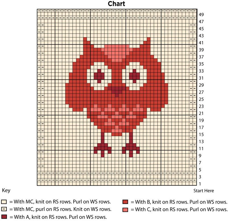 Owl Dishcloth | Yarn | Free Knitting Patterns | Crochet Patterns | Yarnspirations