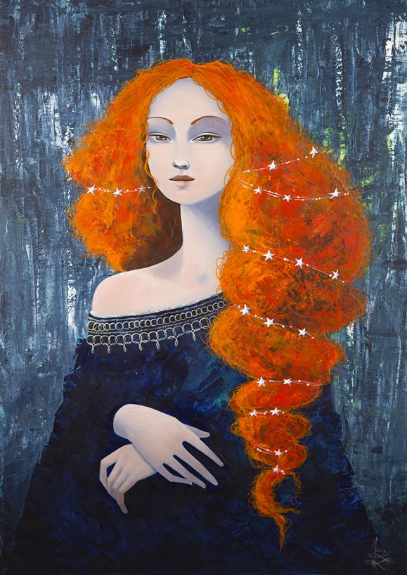 La Gioconda by June Leeloo (Brave-inspired, I suppose. Anyway, it's gorgeous.)