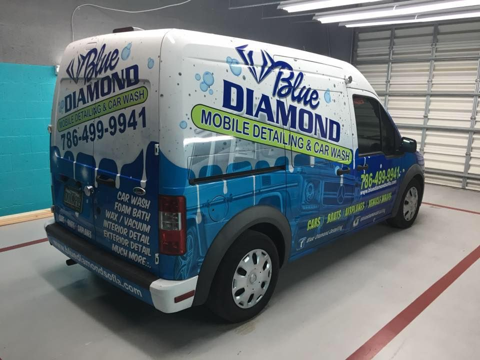Looking For Mobile Car Detailing Company In Miami Call Blue Diamond Detailing At 786 865 5888 Car Detailing Car Blue Diamond