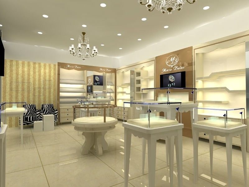 white and gold retail interior Google Search white and gold