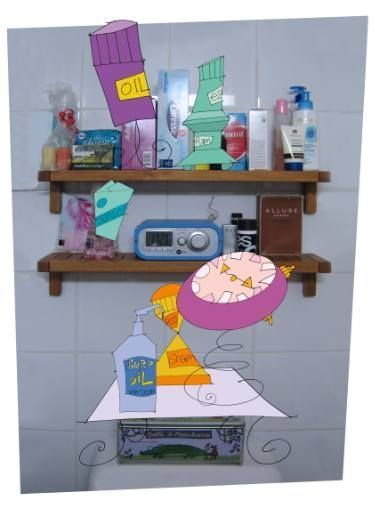 """Photo of Saatchi Art Artist PASCAL FESSLER; Drawing, """"Recreational Room"""" #art     Saatchi…"""