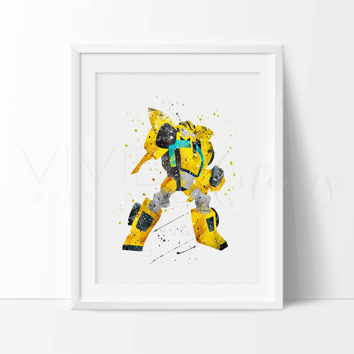 Transformers Bumblebee Art Print, Superhero Watercolor Nursery Art Decor, Boys Bedroom Wall Decor, Superhero Art Print, Not Framed, No. 36 • • • • • • • • • • • • • • • • • • • • • • • • • • • • • • • • • • • • • • • • • • • ★ FREE PRIORITY MAIL SHIPPING on all US orders over $50 ★ ▷ ▷ ▷ Enter Code: PRIORITYSHIP ★ FREE FIRST-CLASS MAIL SHIPPING on International orders over $100 ★ ▷ ▷ ▷ Enter Code: FREESHIP100 *Coupon must be entered upon checkout. We are unable to give credit after…