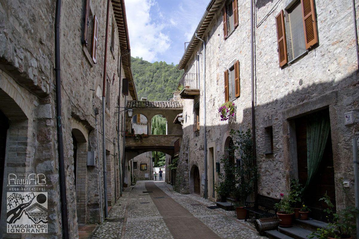 Porta Valcasana, Scheggino (PG) Foto di Anna Bernasconi