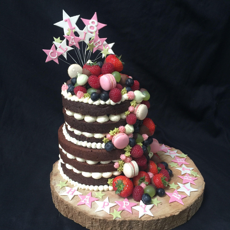 Pin su Naked Cake