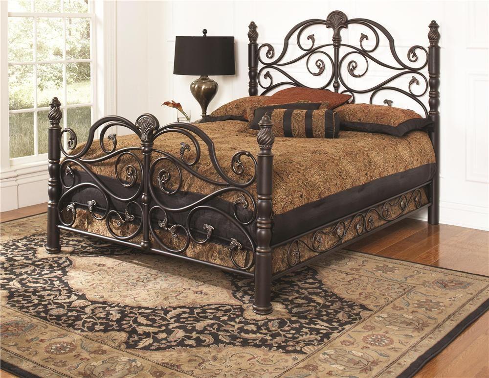 bella queen bedlargo at ivan smith furniture | wrought