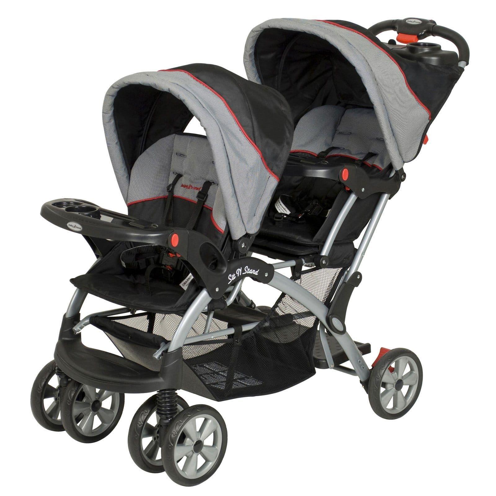 Baby Trend Sit N Stand Plus Double Stroller Millennium Single Baby Car Stroller Babystroller Affiliate In 2020 Stroller Baby Trend Double Strollers