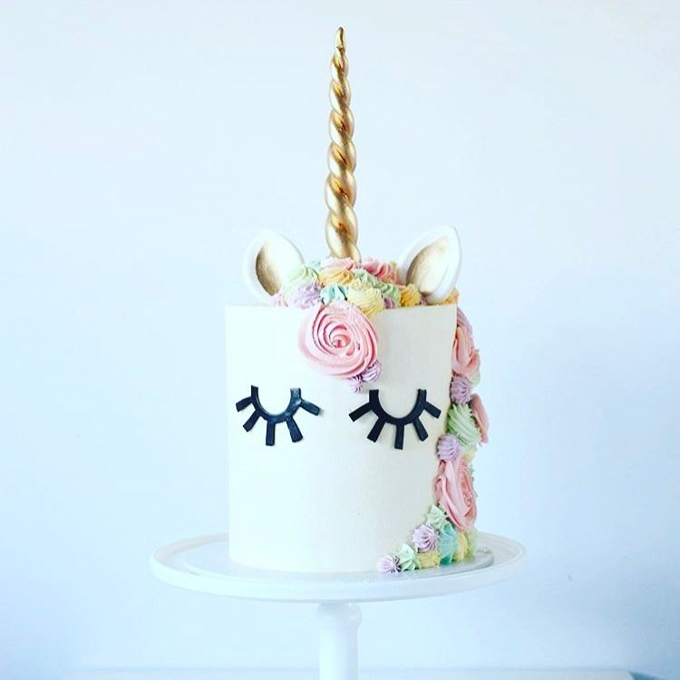 unicorn cake birthday party on Instagram Party Ideas Unicorn