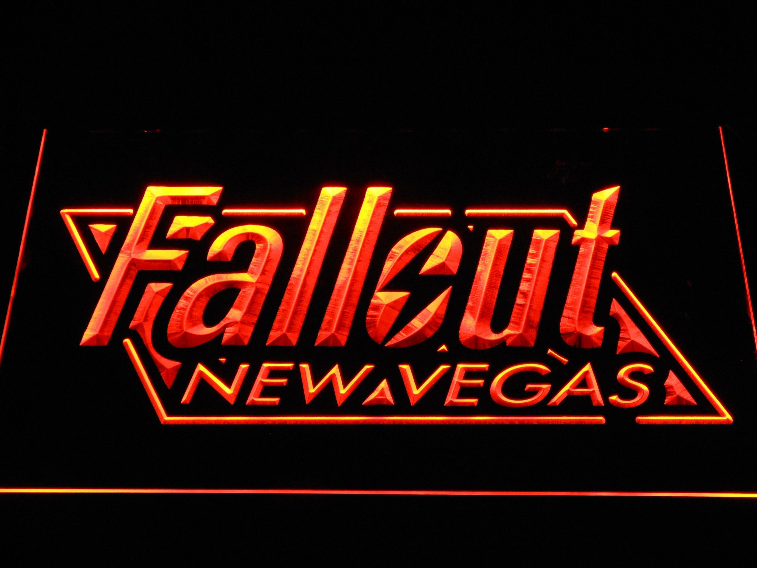 Fallout New Vegas LED Neon Sign Neon signs, Led neon