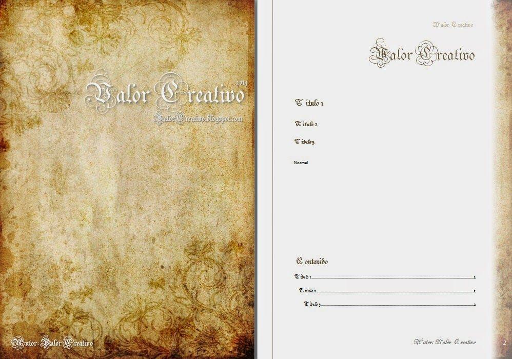Valor Creativo: Plantillas Word 2003, 2007, 2010 y 2013 | word ...