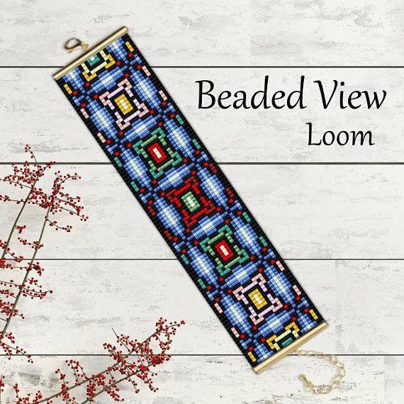 Bead Loom Pattern, Loom Bead Pattern, Loom Bracelet Pattern ...