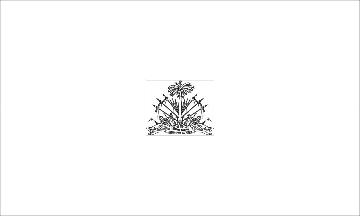 Haiti Flag Coloring Page Sonlight Core C Window On The World