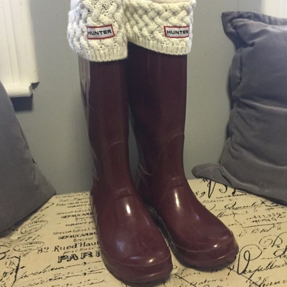 Never worn hunter welly socks Authentic never worn Hunter welly socks, will  consider bundling with