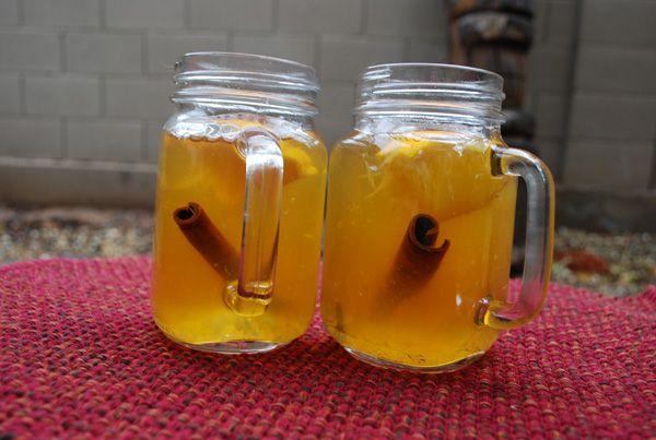 Easy Apple Cider  RECIPE --> http://www.pinkblotmom.com/food--drink.html