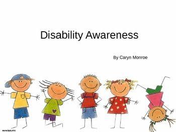 Disability Awareness Curriculum   Sped   Disability