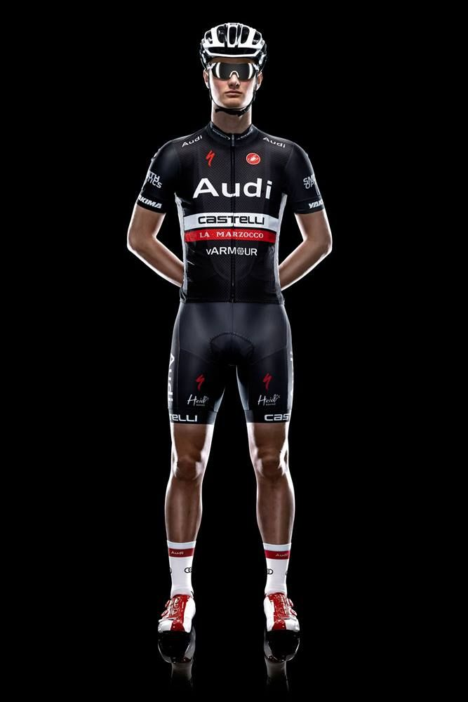768b29345 The 2014 Audi Cycling Team kits. Sponsored by Specialized