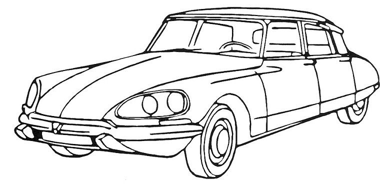 Dessin voiture citroen dessins images drawings cars - Voiture de course a dessiner ...