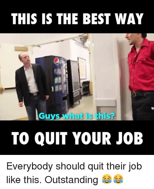 Quit Your Job Meme Job Memes Job Quotes Funny Quit Job Funny