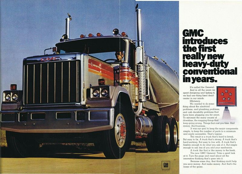 1977 Gmc General Heavy Truck Big Trucks Gmc Trucks