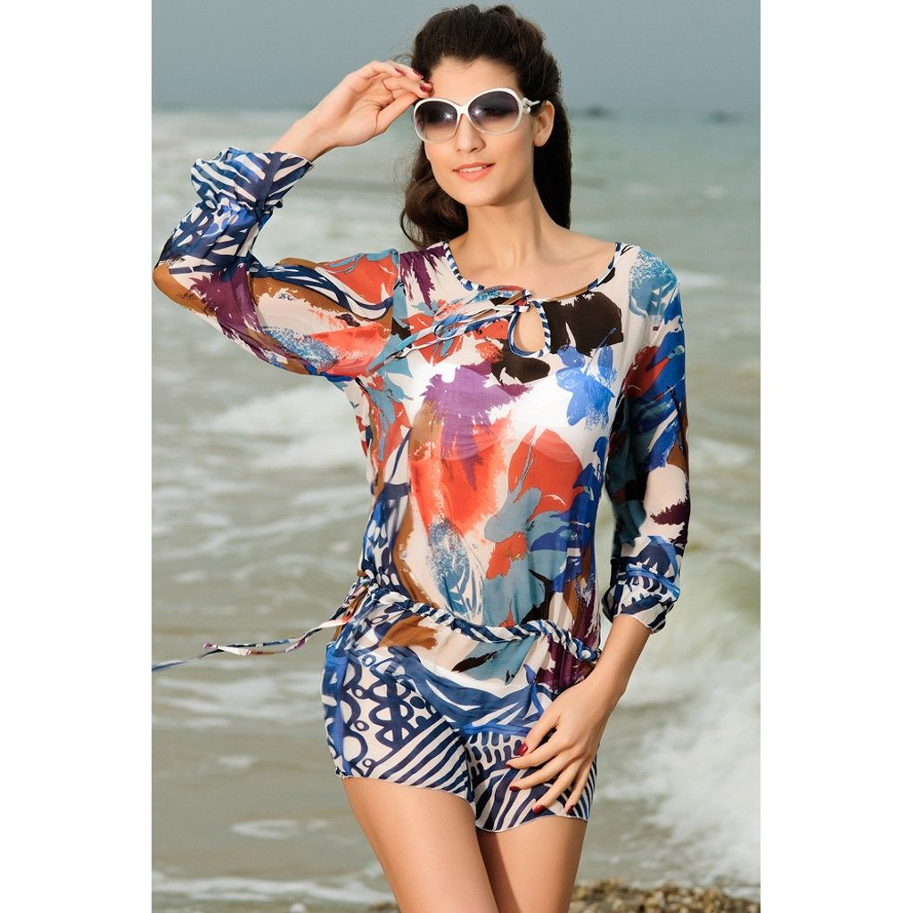 Avrasya 2015 Bayan Plaj Elbisesi Kollu Pareo 44585332 N11 Com Moda Stilleri Plaj Elbiseleri Plaj Etek