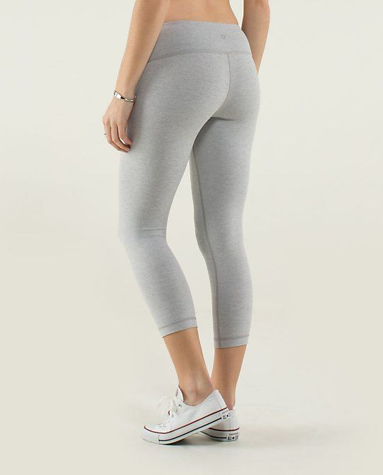 e2416827fa782 Light grey Wunder Under Crop lulus. Light grey Wunder Under Crop lulus  Running Gear, Athletic Outfits, Lululemon, Fancy Clothes