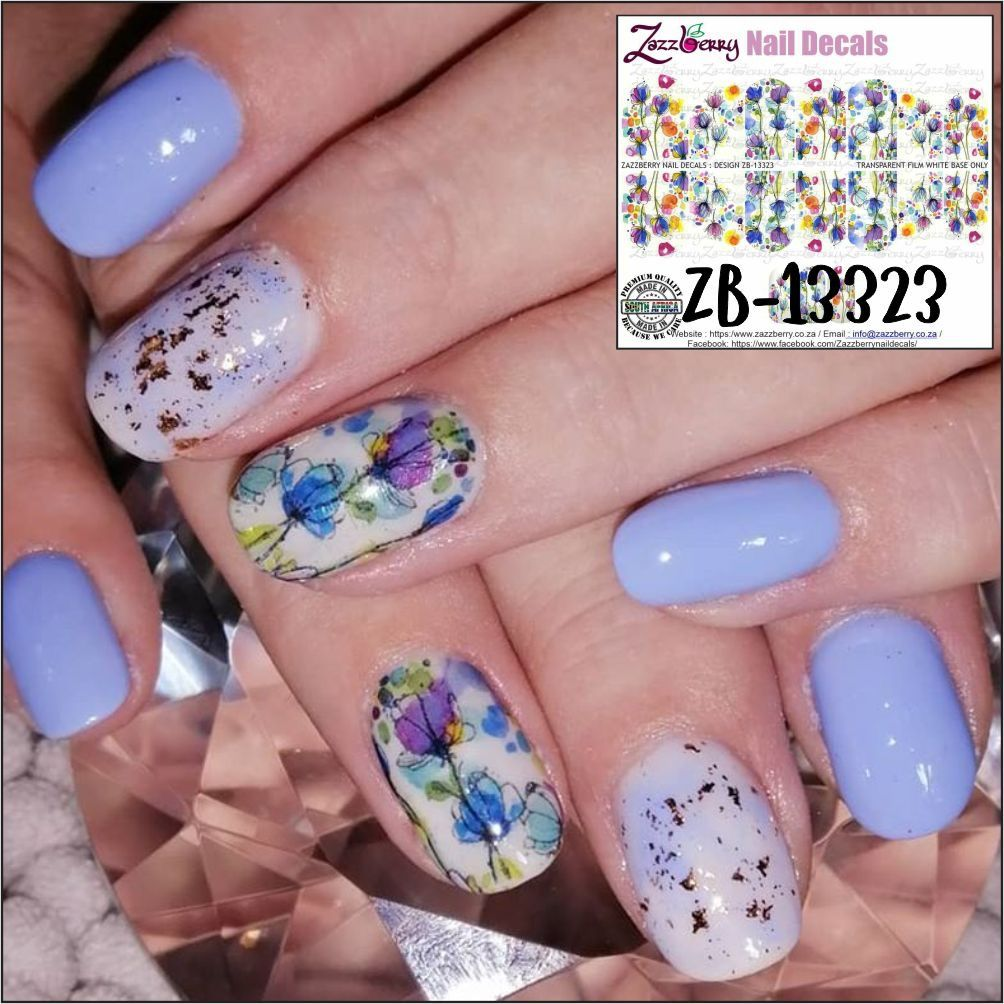 Pin On Zazzberry Nail Decals