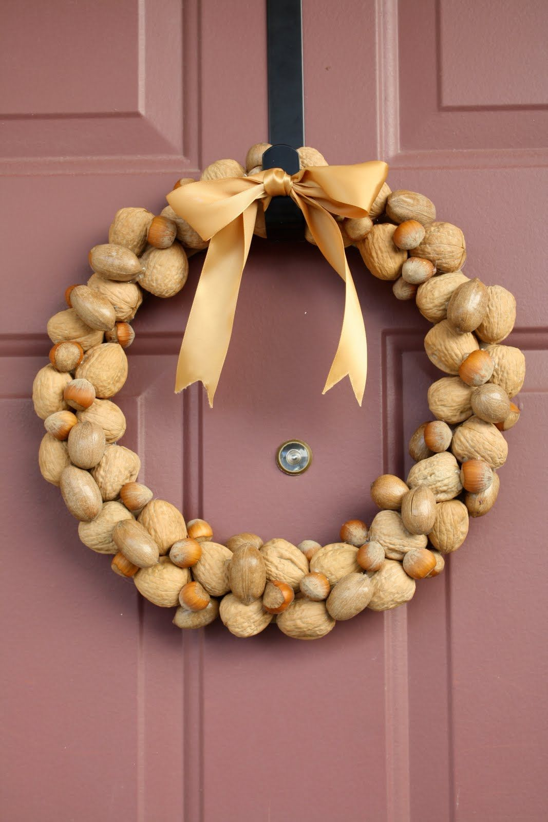 walnut wreath