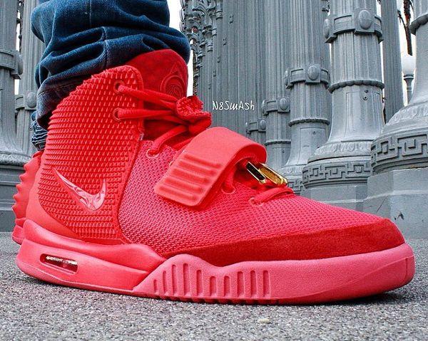2-Nike Air Yeezy 2 Red October - N8smash