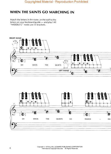 Piano Sheet Music for Beginners | Free sheet music : Traditional ...