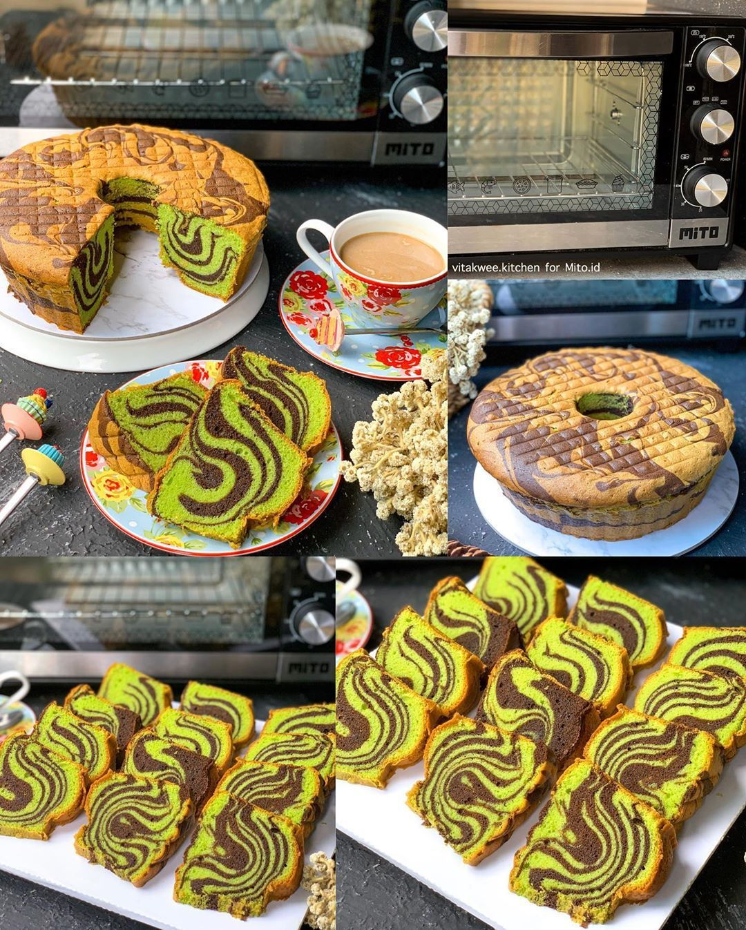 Vitakwee Kitchen Di Instagram Alooooo Makk Da Lama Banget Absen Bikin Cake Marmer Karna Kudu Nunguin Endapan Homema Kue Lezat Makanan Makanan Dan Minuman