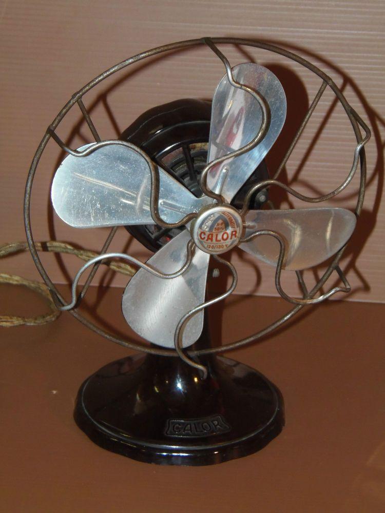 petit ventilateur calor bakelite forme micro art deco 1940 en 110 v collection de marque calor. Black Bedroom Furniture Sets. Home Design Ideas