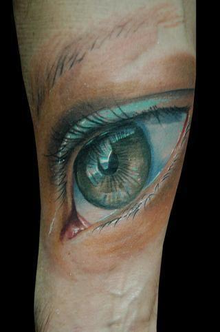 an eyeful