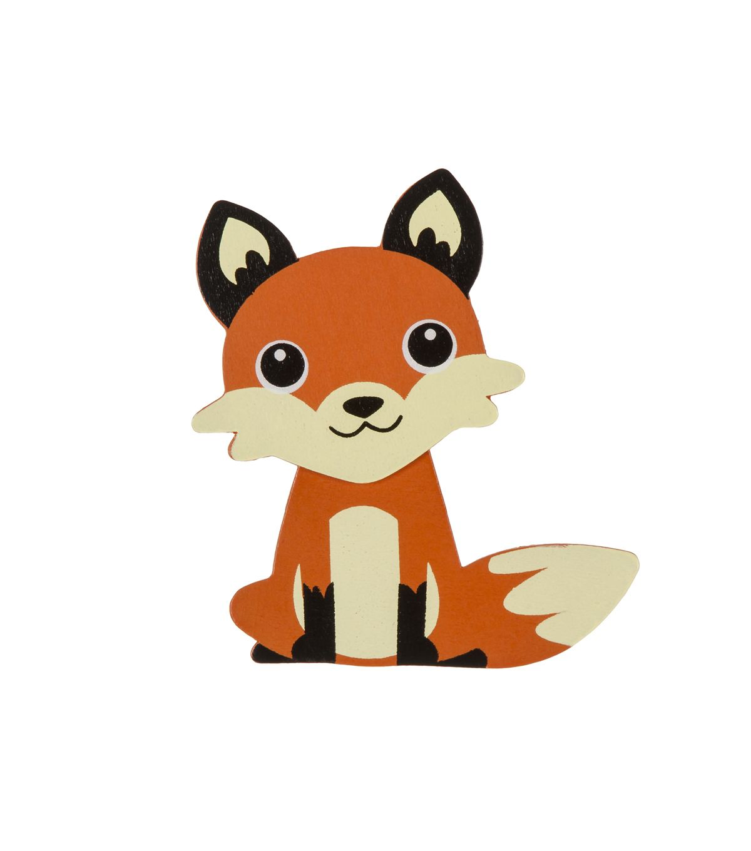 Woodland Animal Painted Wood Shape Fox Joann Jo Ann