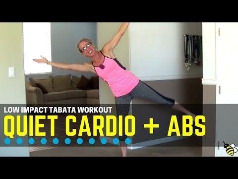 low impact quiet cardio  abs tabata  high intensity