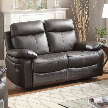 Magnificent Ac Pacific Ryker Brown Leather Reclining Living Room Caraccident5 Cool Chair Designs And Ideas Caraccident5Info