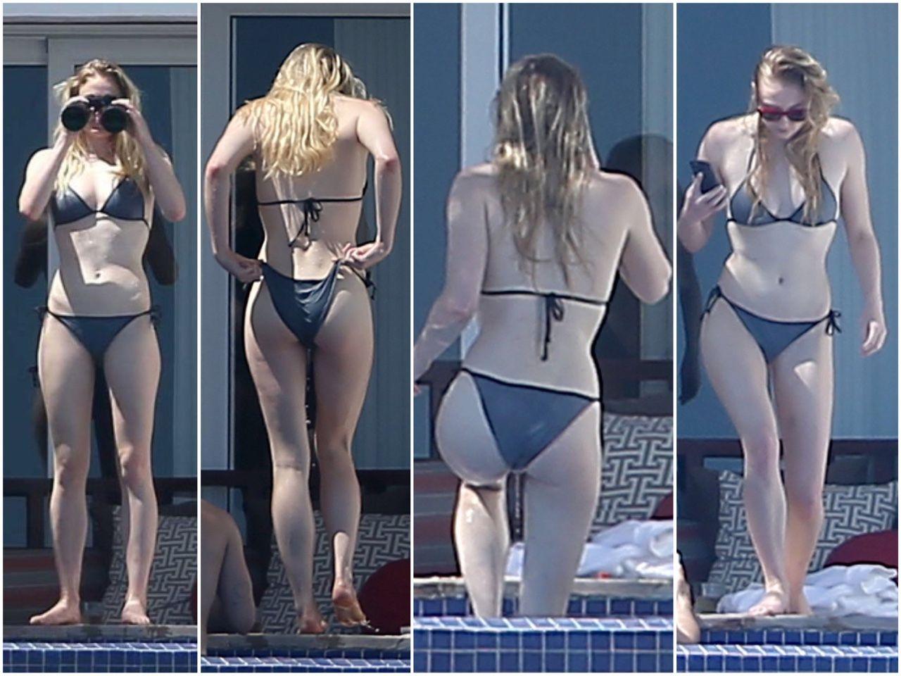 Tv Actress Shraddha Arya Hottest Bikini Body Exposed: Sophie Turner In Bikini