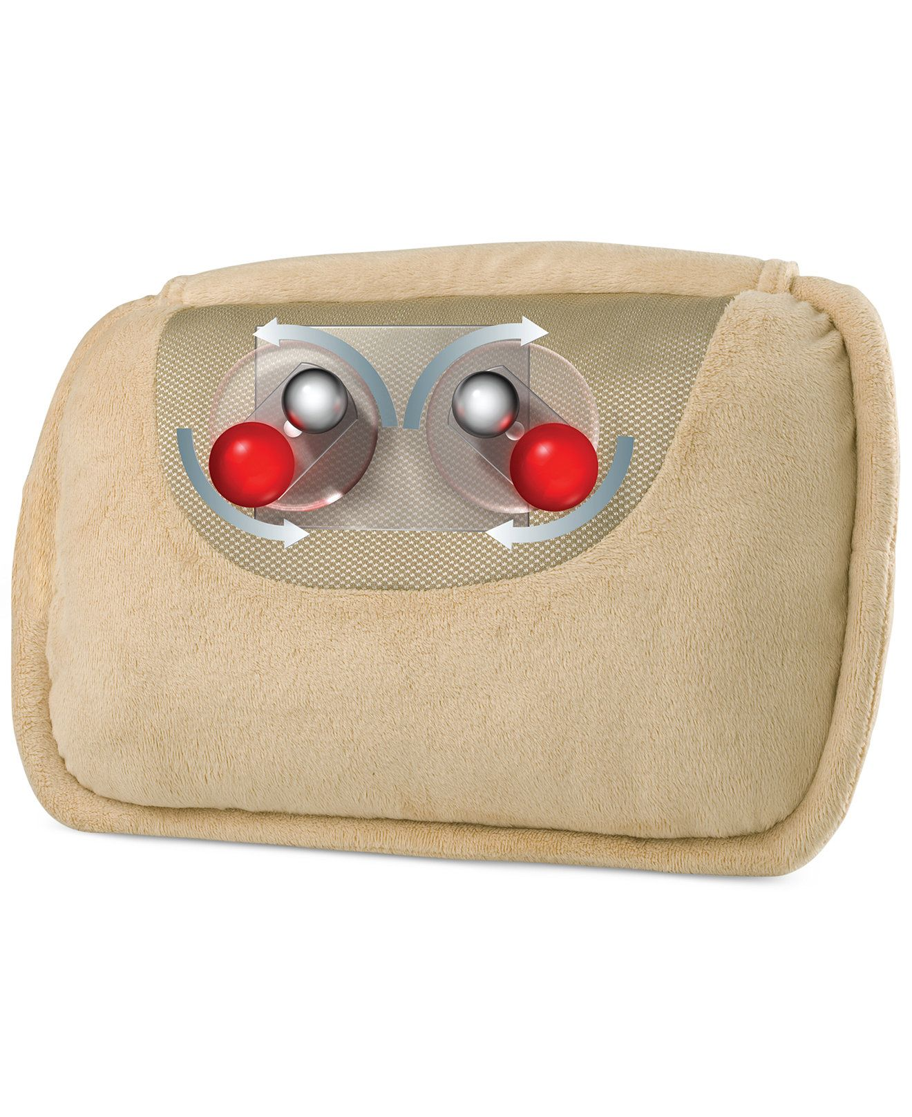 The Heated Shiatsu Massage Pillow