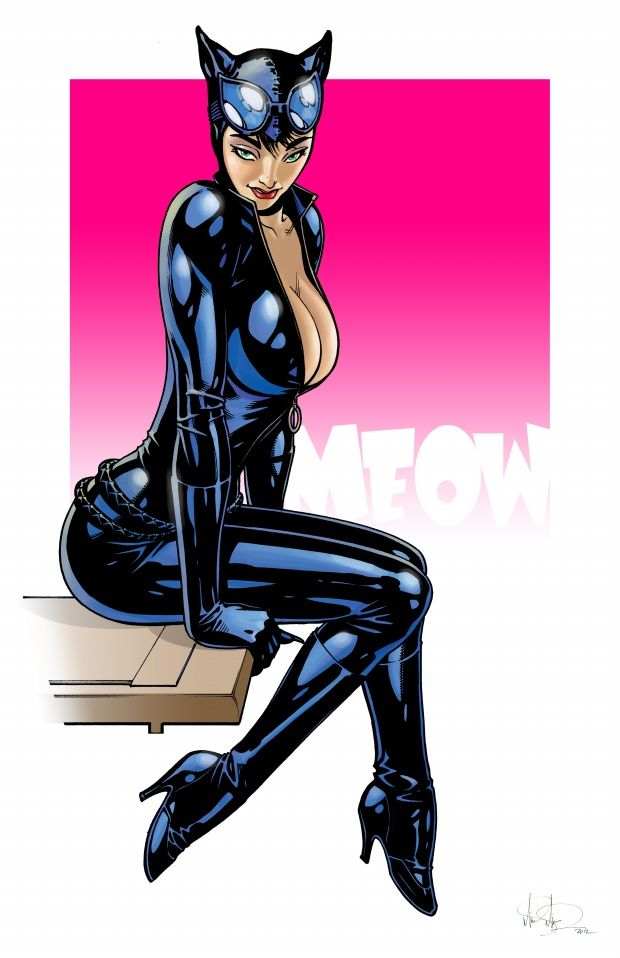 af5d76a7d352ea Catwoman by Mike S. Miller