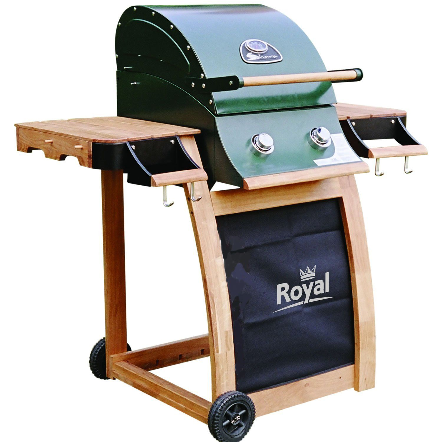 Roaster Gas Barbecue Grill