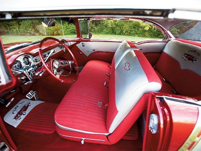 Interior 1955 Chevy Bel Air 1955 Chevy Bel Air Chevy Bel Air 1955 Chevy