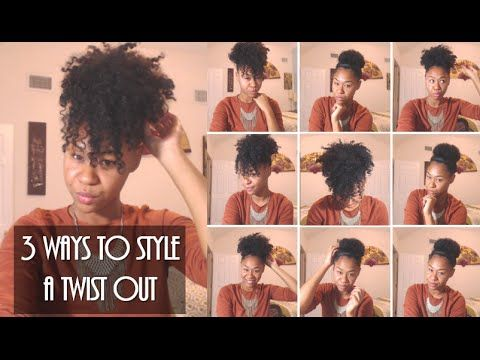 6 Ways To Wear Old Twist Out Braid Out Natural Hair Youtube Womens Hairstyles Hair Styles Black Women Hairstyles