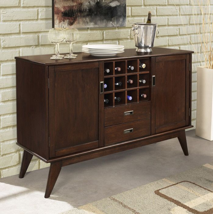 Draper Sideboard Buffet and Wine Rack