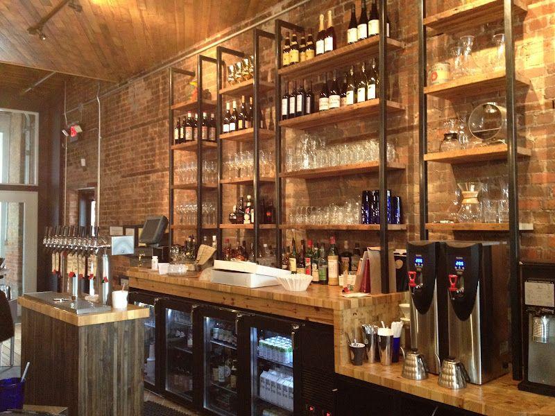 Coffee bar design cafe design
