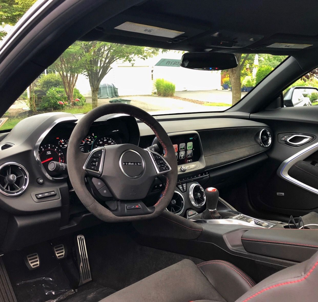 Interior Of The Chevrolet Camaro Zl1 1le Painted In Nightfall Grey Metallic Photo Taken By Cam Cohen On Instagram Owned By Cam Cohen On Instagram