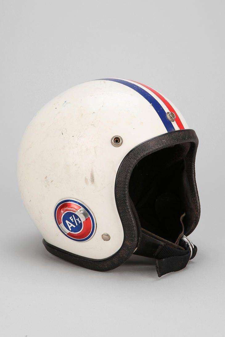 Vintage 70s Americana Novelty Helmet Bobber Helmets Vintage Helmet Retro Bike Helmet