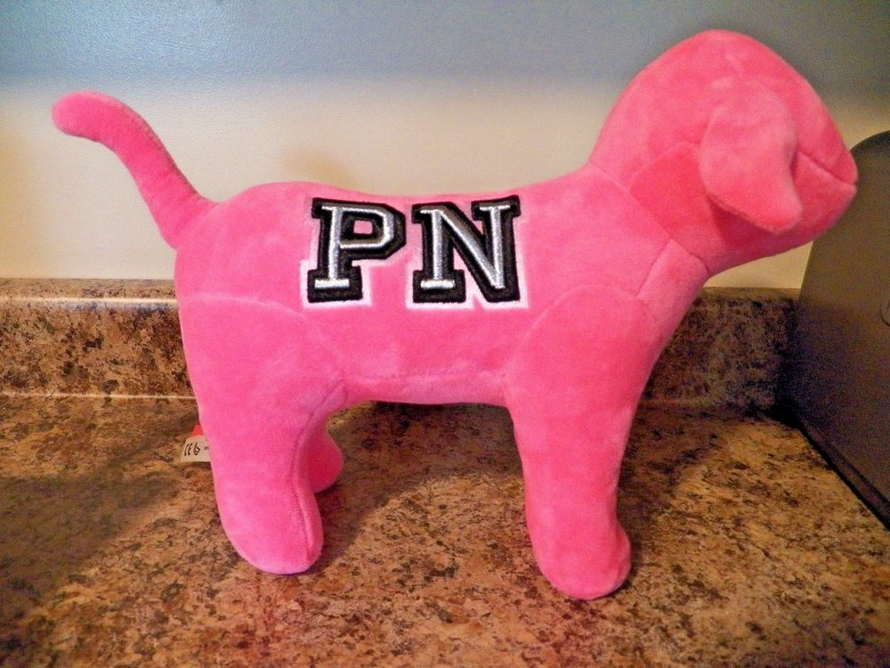 fbac509eaf629 NEW Victoria s Secret VS Exclusive PINK NATION Cozy Plush Puppy Dog FALL  2018  VictoriasSecretPINK